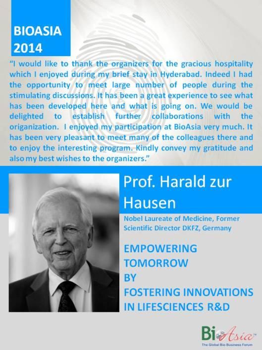Prof. Dr. Harald zur Hausen